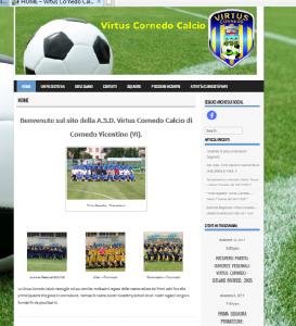 Virtus Coredo Calcio - Flavio Dalla Vecchia consulenza informatica e nuove tecnologie